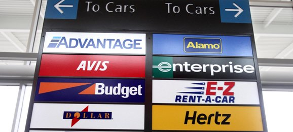 Off-Airport Car Rental Companies. Off-airport car rental customers can call for shuttle pickup just outside of the Ground Transportation Center, located on the first floor of the Terminal Garage, in .