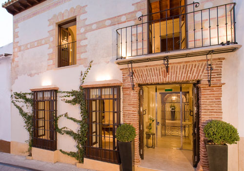 Claude Hotel Old Town Marbella front view
