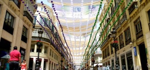Shopping Calle Larios Malaga