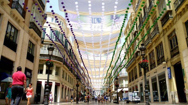 calle larios malaga city