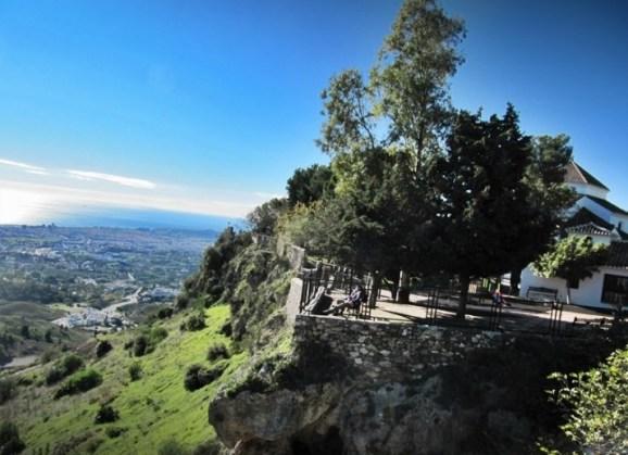 Parque Muralla mijas pueblo