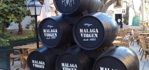 Malaga Wine Barrels