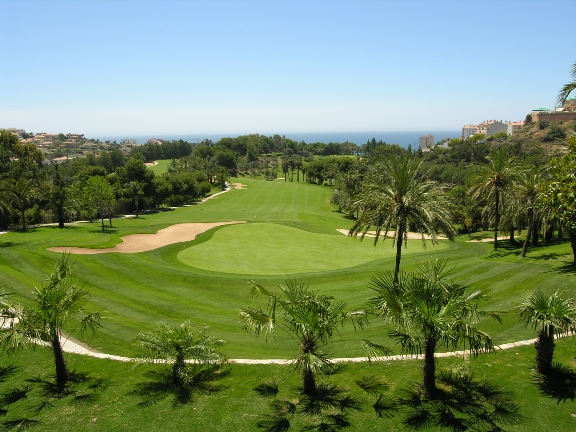 golf at Torrequebrada course costa del sol