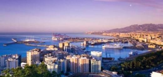 Malaga city bay