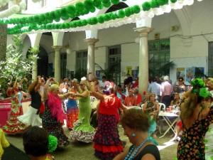 flamenco dancers street