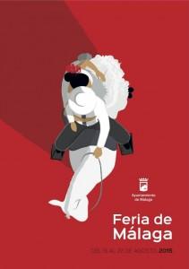 malaga feria poster