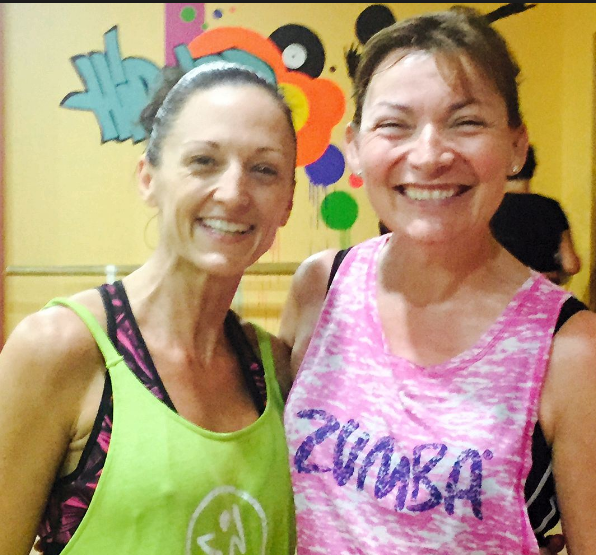 nikki & kelly zumba instructor