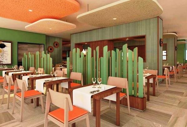 Main restaurant - Ajo Blanco