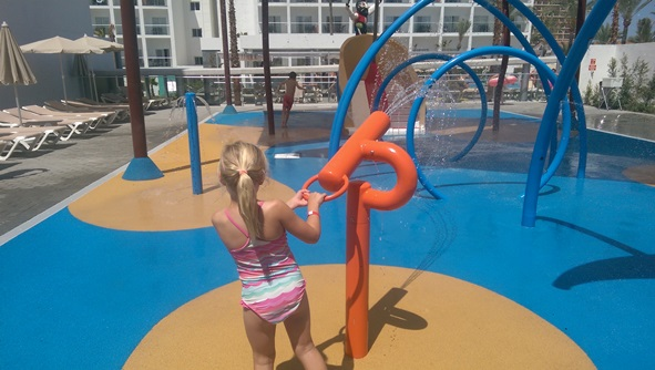 Splash park fun!!