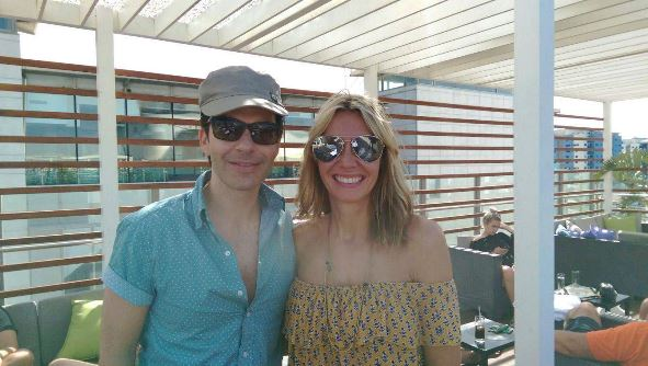Me with Kelly from The Stereophonics!