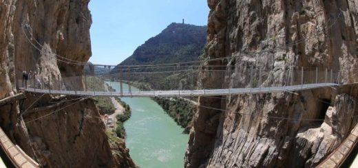 Camino del Rey Final Bridge